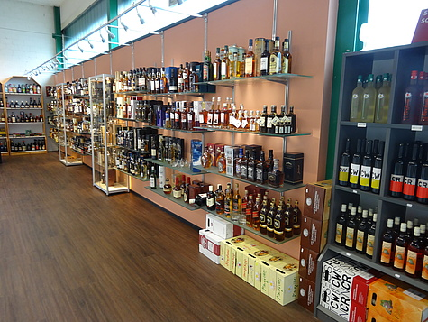 Brauerei Falken AG: Getränkemärkte